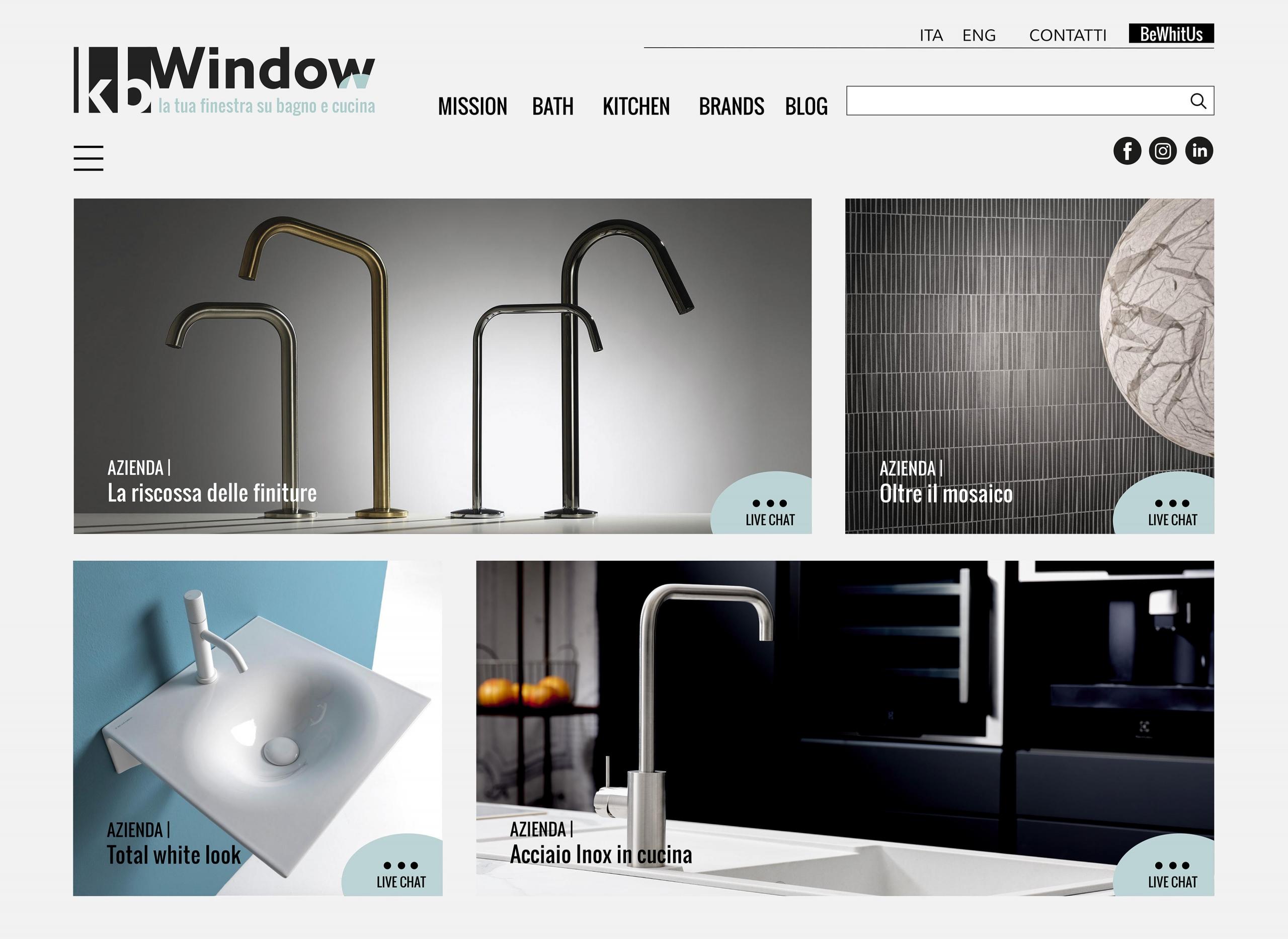 Kbwindow – al via a giugno la nuova piattaforma digitale dedicata al mondo del bagno e cucina
