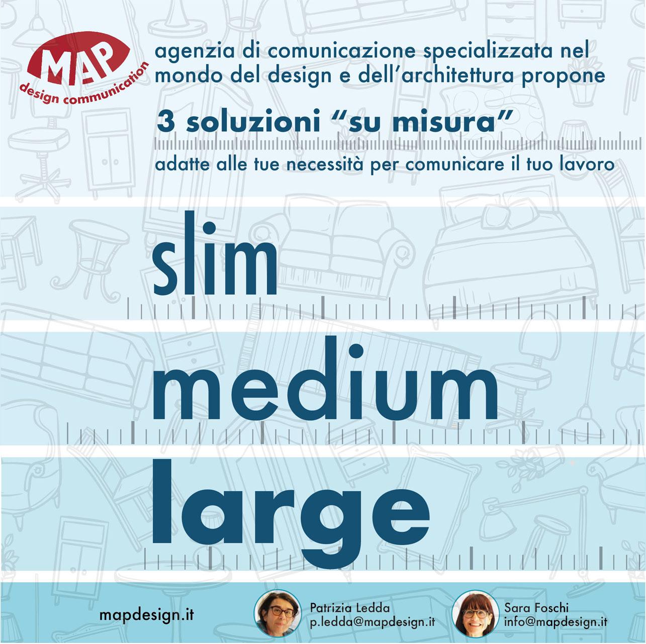 Map Design – comunicazione 'su Misura' per il design e l'architettura