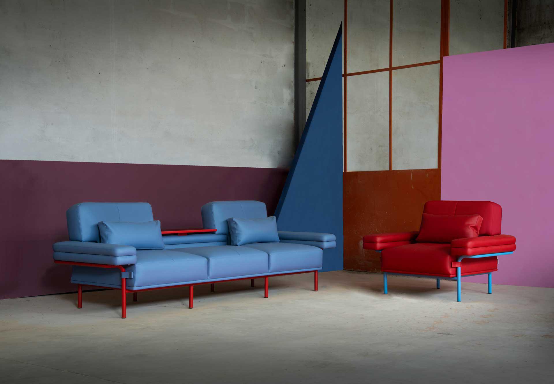 Adrenalina presenta LEO, la nuova collezione di divani e poltrone