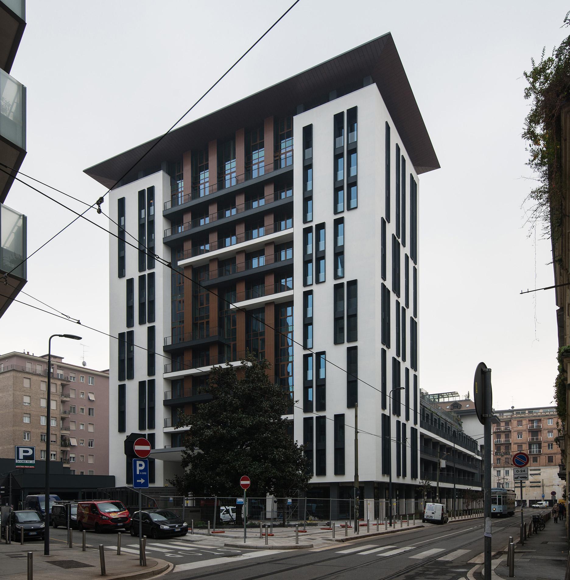 Asti Architetti progetto architettonico UNA Hotel Milano Verticale
